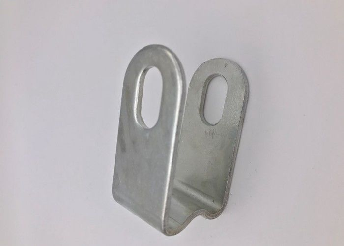 Iron Material Flat Washer Of Customize Marble Angle Bracket With White Color