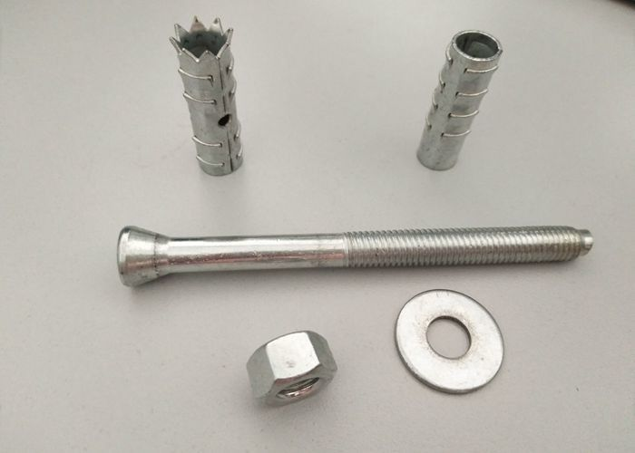 High Strength Iron Mechanical Anchor Bolt M10-M30 , Chemical Anchor Fasteners