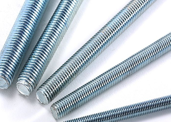 Zinc Plated Carbon Steel Full Threaded Rod For Construction Projects