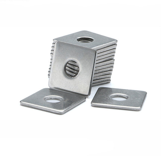 Carbon Steel Square Metal Flat Washers for Timber Constructions